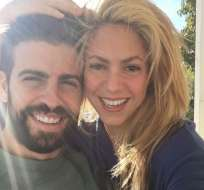 La mediática pareja enfrenta los rumores de separación. Foto: Instagram Shakira.
