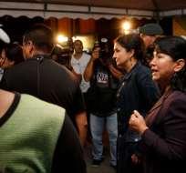 Alvarado dice que no hubo reporte de amenazas a Moreno. Foto: Ministerio de Justicia