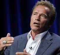 """Schwarzenegger """"estable"""" tras cirugía cardíaca de urgencia, según prensa. Foto: AP"""