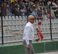 El entrenador uruguayo lamentó las opciones de gol desperdiciadas. Foto: API