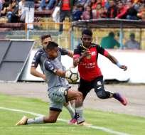 Los 'morlacos' empataron 0-0 con El Nacional en el estadio Alejandro Serrano Aguilar. Foto: API