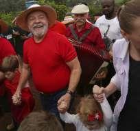 Lula busca evitar que empiece la condena de 12 años por corrupción pasiva. Foto: Archivo AP