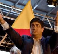 El exministro de Desarrollo Social en Costa Rica obtuvo 60,74% de los votos. Foto: AFP