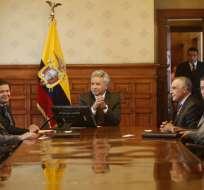 Paco Moncayo, integrante del Consejo, dijo que trabajarán en el secuestro y en políticas. Foto: API