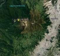 El epicentro del sismo se ubicó a 15 km en la zona del cauce alto del río Cristal. Foto: @IGecuador