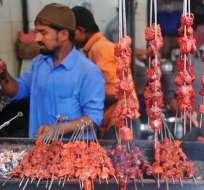 Pese a la concepción extranjera e incluso local, en India la mayoría de la gente come carne.