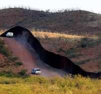 Permanecerían allí hasta que EE.UU. construya un muro en la frontera. Foto: Archivo AP