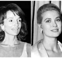 De izquierda a derecha, Wallis Simpson en 1941, Lee Radziwill en 1974, la actriz Grace Kelly en 1954 y la actriz Rita Hayworth.