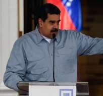 "Maduro tachó de ""racistas"" a gobiernos europeos. Foto: AFP"