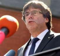 """l independentista exhortó al gobierno español a """"iniciar el diálogo"""" sobre Cataluña. Foto: AFP"""