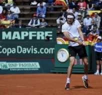 Alexander Zverev, número cuatro del mundo, venció a David Ferrer por 6-4, 6-2 y 6-2.