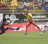 Aucas goleó en su estadio a Deportivo Cuenca por la octava fecha del campeonato.