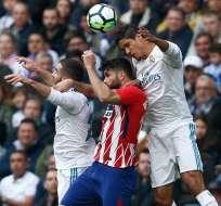 Real Madrid y Atlético de Madrid no pasaron del empate en la Liga española.
