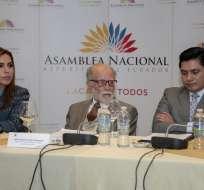 El fiscal general Carlos Baca tiene previsto comparecer ante Comisión el miércoles. Foto: API