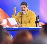 Jueces exiliados piden la captura de Maduro por presuntos vínculos co/n el escándalo de Odebrecht. Foto: Twitter @NicolasMaduro