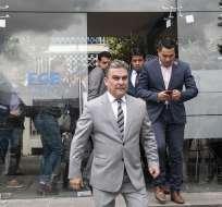 Tras difusión de grabación, Serrano fue destituido de presidencia de la Asamblea. Foto: API