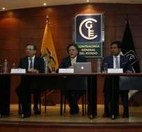 El contralor Celi determinó responsabilidades por la deuda pública del Ecuador. Foto: API