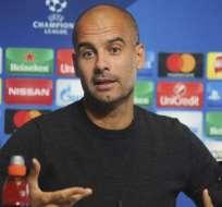 Pep Guardiola es optimista de seguir con su equipo en la Champions League.