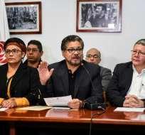 """ELN: arresto de exnegociador de las FARC es """"bofetada"""" a paz. Foto: AFP"""