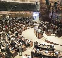 Resolución de Legislativo se solidariza con afectados por ataques en Esmeraldas. Foto: Twitter Asamblea