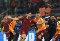 Los italianos golearon 3-0 al equipo español y están entre los 4 mejores de la Champions. Foto: LLUIS GENE / AFP