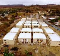 Secretaría reporta obras pendientes a 2 años del terremoto; afectados reclaman. Foto: Archivo Secretaría Técnica Reconstrucción