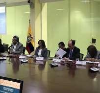 A las 10h50 se venció el plazo de 12 horas que dio Moreno a los secuestradores de los ecuatorianos. Foto: @Lenin