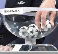 El sorteo de las semifinales de la Europa League se realizó en la ciudad suiza de Nyon.