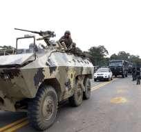 Acciones militares se dan tras la confirmación del Gobierno de que periodistas secuestrados fueron asesinados. Foto: Secom