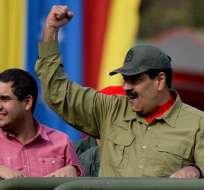"""""""Nos duele Venezuela como latinoamericanos"""", dijo la vicepresidenta Vicuña. Foto: AFP"""