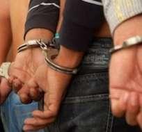 Al menos 31 de los aprehendidos acusados de cotizzar 'dólar negro'. Foto: Twitter Noticias Venezuela.