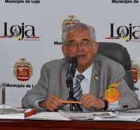 Aprueban proceso de revocatoria de alcalde de Loja, José Bolívar Castillo. Foto: Archivo