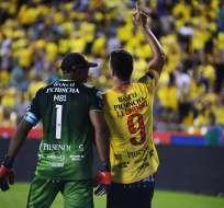 Los 'amarillos' vencieron 1-0 a Guayaquil City en el estadio Monumental. Foto: API