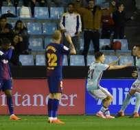 El 'Barca' jugó con un equipo aletrnativo para dar descanso a los titulares. Foto: MIGUEL RIOPA / AFP