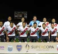 El equipo argentino llegaría alrededor de las 7 de la noche a Guayaquil. Foto: Andres Larrovere / AFP