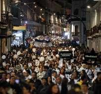 Personas tomaron las calles del país con el lema de #UnidosPorLaPaz - Foto: API