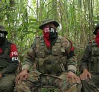Ecuador anunciara su marginación del proceso de paz entre el ELN y Colombia. Foto referencial / Archivo AFP