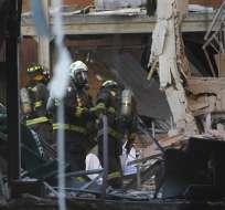 Tres muertos y 50 heridos en explosión de gas en Chile. Foto: AFP