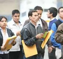 Estado propone alianza para generar 188.000 plazas de empleo. Foto: Referencial