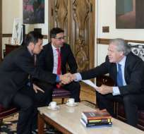 OEA apoya acciones de Ecuador y Colombia en frontera. Foto: Twitter Luis Almagro