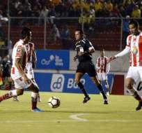 El equipo ambateño igualó 1-1 en el estadio Gonzalo Pozo Ripalda. Foto: API