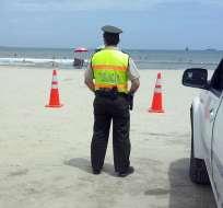 Habrá controles en carreteras y terminales terrestres, indicaron las autoridades en rueda de prensa. Foto: Ministerio Interior