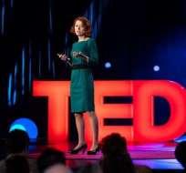 Olga Yurkova habló en el evento TED 2018 sobre la importancia de frenar las noticias falsas en Ucrania.
