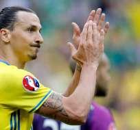 El jugador sueco milita desde hace pocas semanas para Los Angeles Galaxy. Foto: tomada de twitter