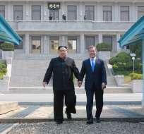 Preparativos avanzan con promesa de buscar desnuclearización de Corea del Norte. Foto: Archivo AFP