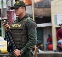 Ministerio de Interior de Ecuador intenta verificar autenticidad de comunicado. Foto referencial / Archivo AFP