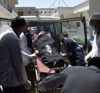 Entre las víctimas del ataque, hay hasta nueve periodistas. Foto: AFP