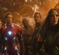 Iron Man y Spider-Man son algunos de los protagonistas de la película.