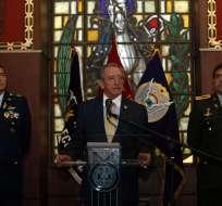 Así lo dio a conocer Oswaldo Jarrín, nuevo titular de la cartera de Defensa. Foto: API