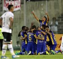 Delfín viene de un partido exitoso en Chile en el que le ganó a Colo Colo. Foto: Radio Huancavilva